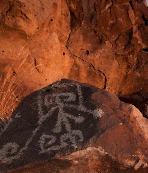 24 sunrise petroglyph, Pueblo tradition, NM