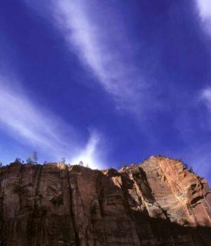 76 Zion waterfall