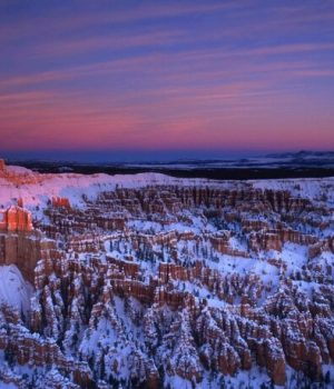 8 Bryce Canyon wintery sunrise