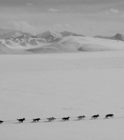 Slow Train Across Arctic